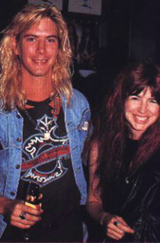 Duff & Michael Steele (from Bangles)